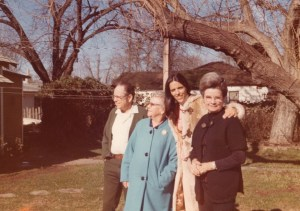 Alice, Tim, Mary Day (Bob's wife), and Jeannette