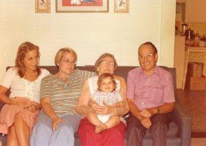 Tim, June, Jan (Joann), Alice, Mikey