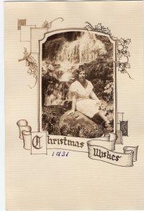 Christmas Card 1931