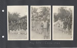 The May Day Fete at the school in Ceres in 1926.