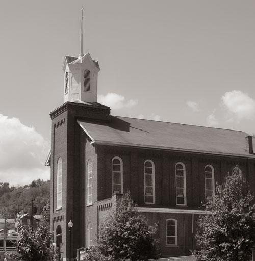 St. Andrew's Methodist Church in Grafton, West Virginia