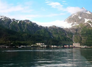 Whittier Alaska Skyline