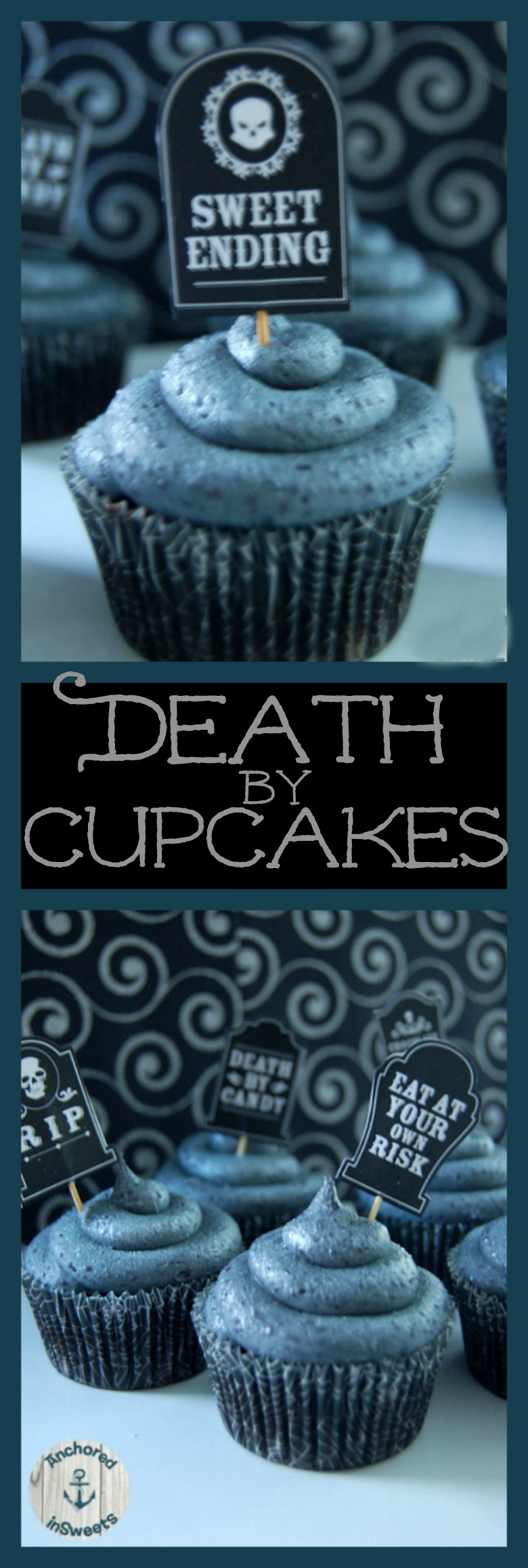 Halloween Death by Cupcakes