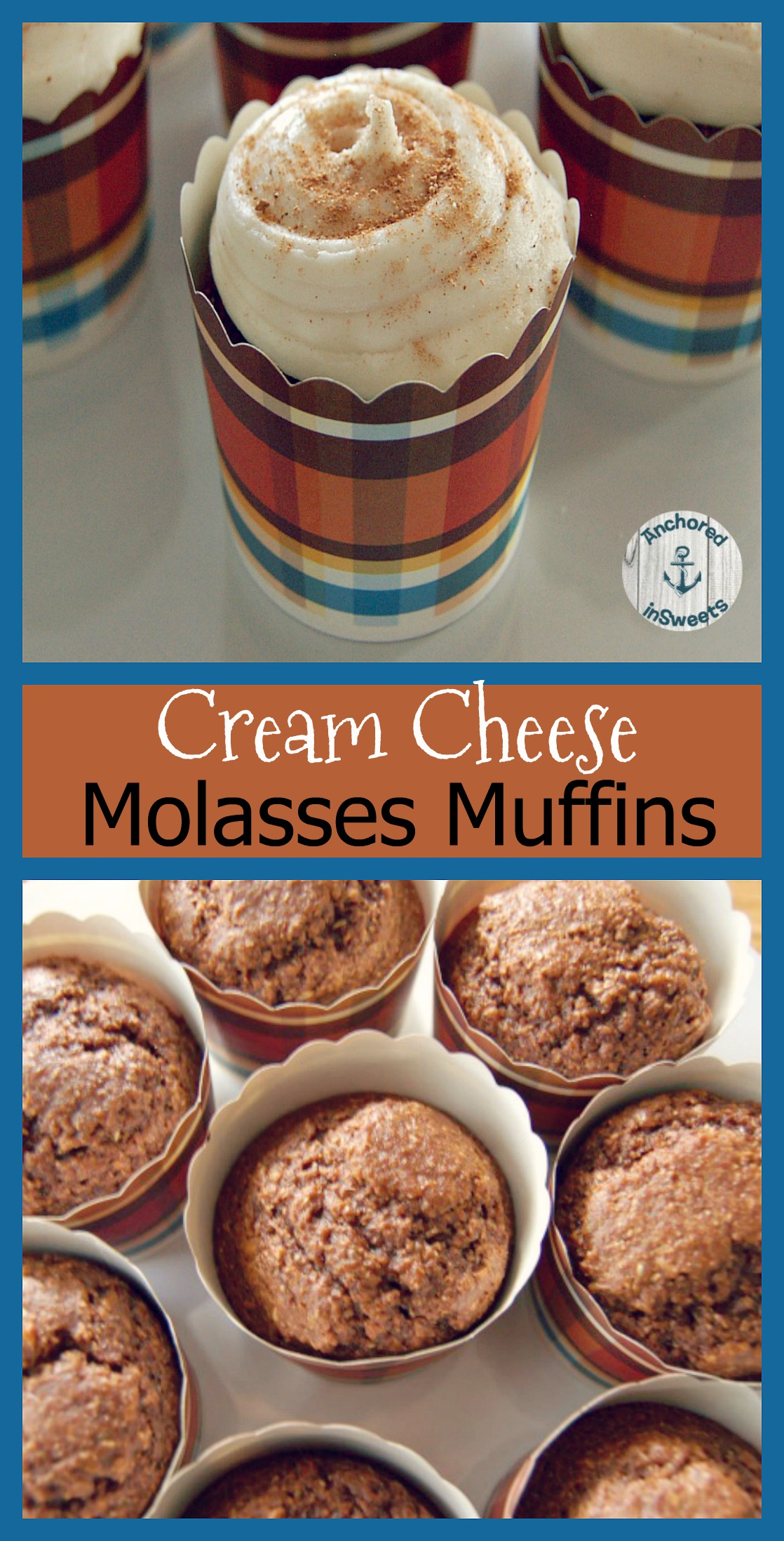 Cream Cheese Molasses Muffins
