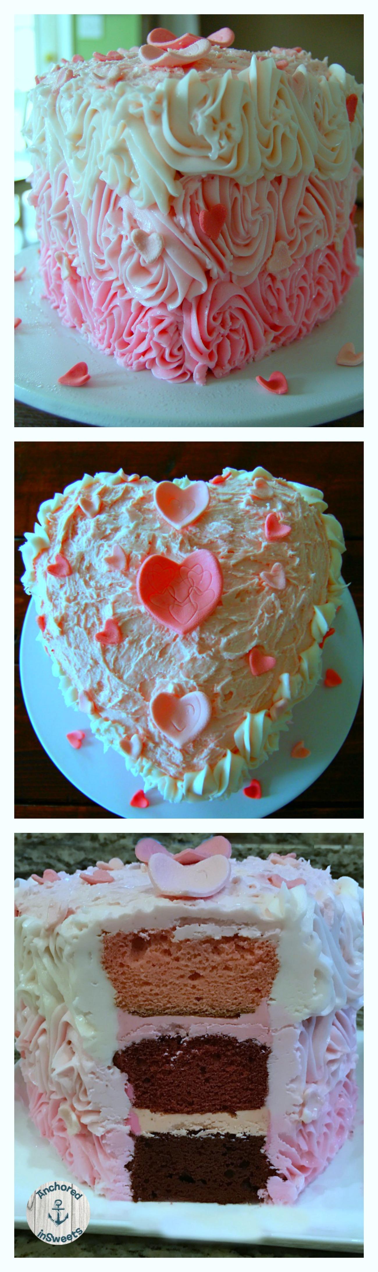 Valentine'sDayAmarettoHeartCake