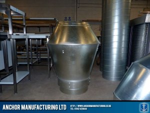 Kitchen air ventilation silencer.