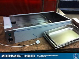 Catering bain-marie fabrication.