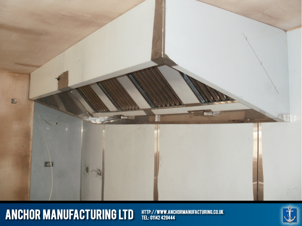 Woodman Inn - Rotherham kitchen extraction canopy. & Woodman Inn u2013 Rotherham kitchen extraction canopy. | Anchor ...