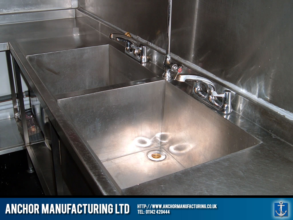 Restaurant Kitchen Sink restaurant kitchen sink installed. | anchor manufacturing ltd