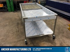 Steel Mortuary Table