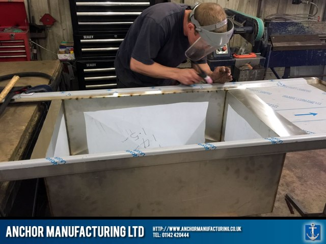 Welded Sink Fabrication