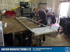 Sink Frame Fabrication