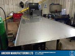 Steel Sink Sink Fabrication Frame