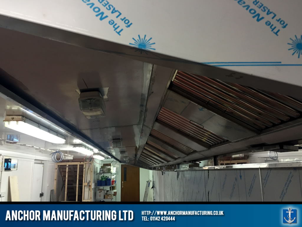 Large Kitchen Canopy air extraction unit & cannon-hall-farm-large-kitchen-extraction-canopy-detail | Anchor ...