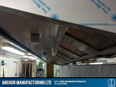 Large Kitchen Canopy air extraction unit