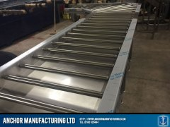 Stainless Sheffield Steel roller system