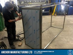 Sheffield stainless steel storage fabrication