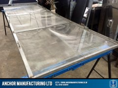 Air conditioning filter frame fabrication completed