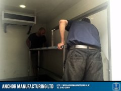 Fabricated stainless steel furniture