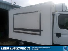 side panel butchers van fabrication