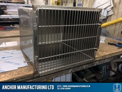 dog kennel stainless steel fabrication
