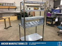 Heated Gantry Burger Chute Combo finished back