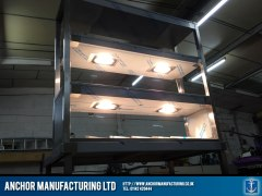 Heated Gantry Burger Chute Combo lighting 2