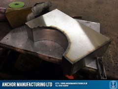 Stainless Steel Neck Brace Welding pre polish