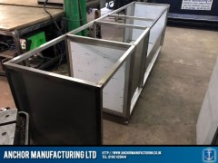 stainless steel cupboard frames