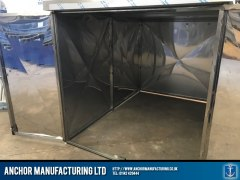 stainless steel shed anti theft Shed structure