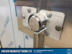 stainless steel shed anti theft Shed lock
