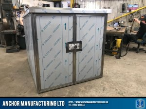 stainless steel shed anti theft Shed