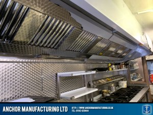 Kitchen Extraction Canopy Completed