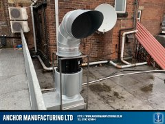 Kitchen Extraction Canopy External Ducting Filtration
