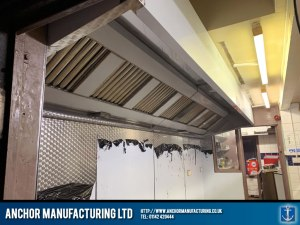 Stainless Steel Kitchen Extraction Canopy