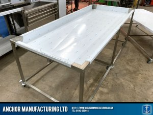 Stainless Steel Mortuary Table modular