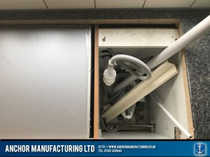 Pre Domestic Kitchen Sink Fabrication Stainless Steel