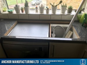 Domestic Home Kitchen Sink Fabrication