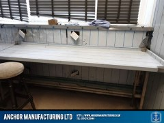 pub kitchen refit filey cladding 4