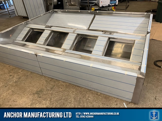 Sheffield Stainless Steel Island Canopy