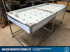 Sheffield Stainless steel body wash table side
