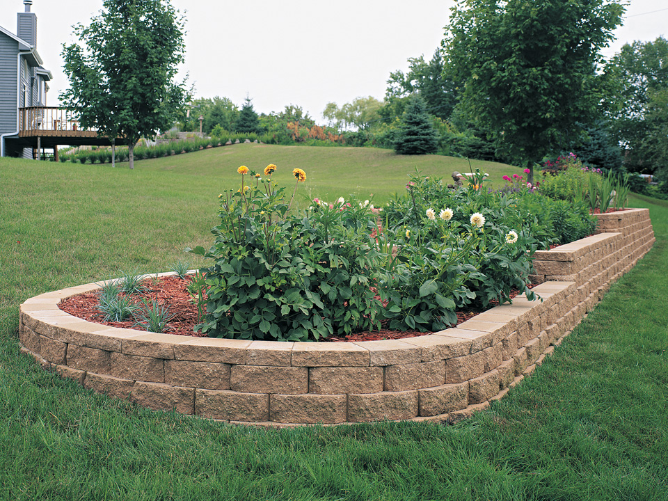 Windsor Block Stone Retaining Wall Amp Garden Stone Wall Blocks