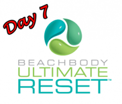 Day 7 of My 21 Day Ultimate Reset