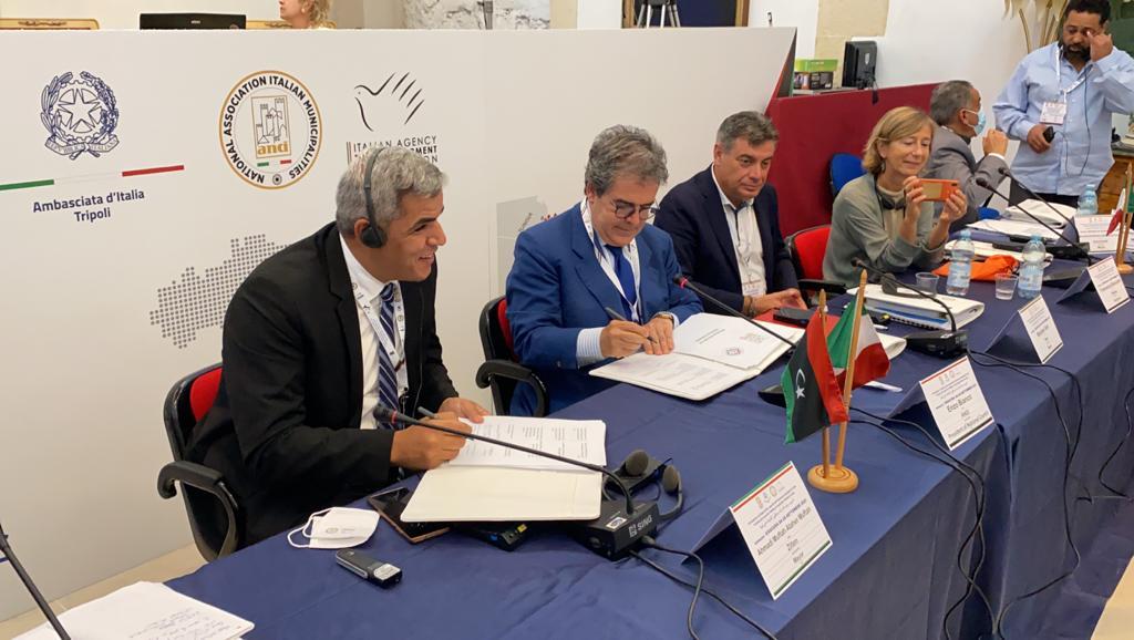 """Nasce a Siracusa """"Cento progetti per cento città"""". Azioni tra associazione  Comuni libici e l'Anci – www.anci.it"""