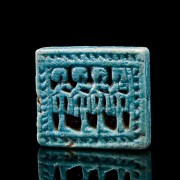 Egyptian Faience Spacer Bead