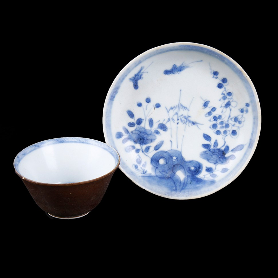 Ca Mau Shipwreck Cup and Saucer Set