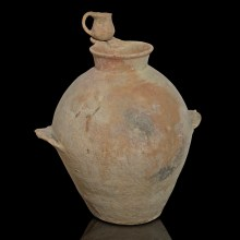 Early Bronze Age Pseudo Spouted Jar with Dipper Juglet