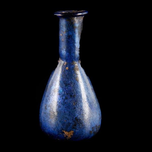 Exquisite Small Roman Glass Unguentarium
