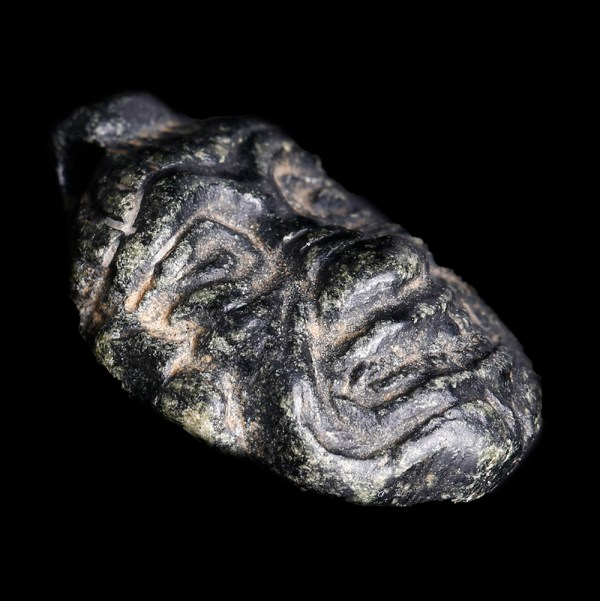 Babylonian Stone Pendant of Humbaba