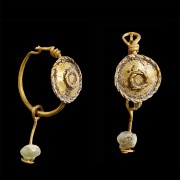Matching Set of Roman Earrings